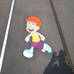 Nursery Play Area Markings in Aberavon 11
