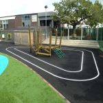 Nursery Play Area Markings in Kingairloch / Ceann Ghe 11
