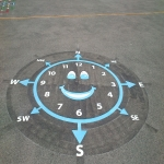 Nursery Play Area Markings in Abington Vale 6