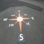 Nursery Play Area Markings in Aston-By-Stone 1