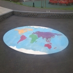 Nursery Play Area Markings in Aberavon 5