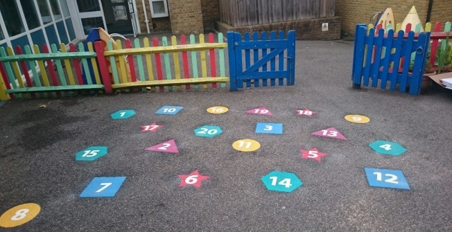 Maths Playground Games Markings