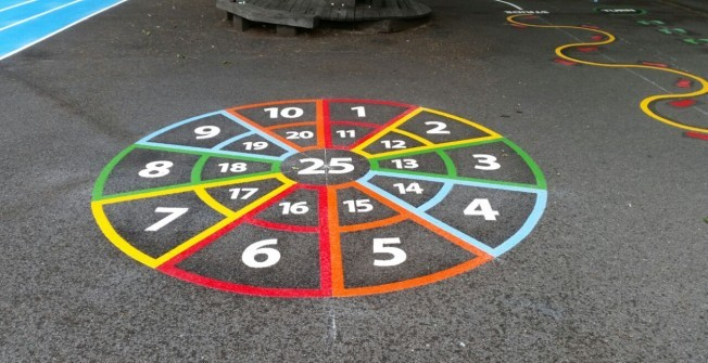 Playground Marking Specialists in Bancyfford