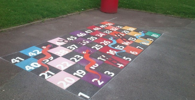 Play Surface Graphics in Newry and Mourne