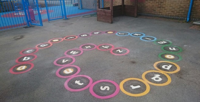 Early Years Playground Design in Aston-By-Stone