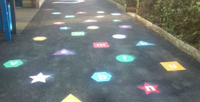 Play Area Activity Graphics in Berkshire